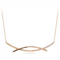 14k / 18kブランヌア一体型ネックレス